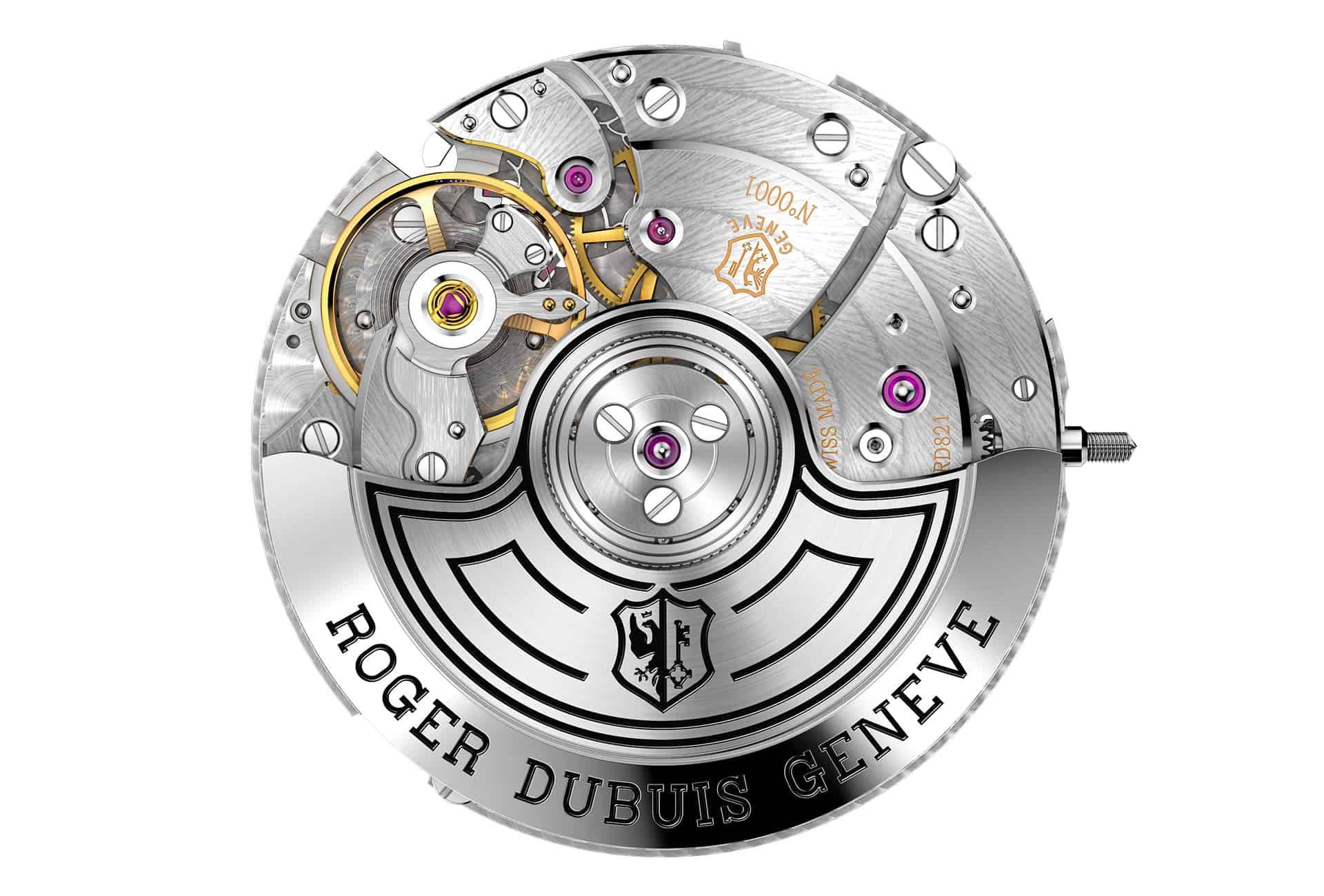 Roger Dubuis Calibre RD821