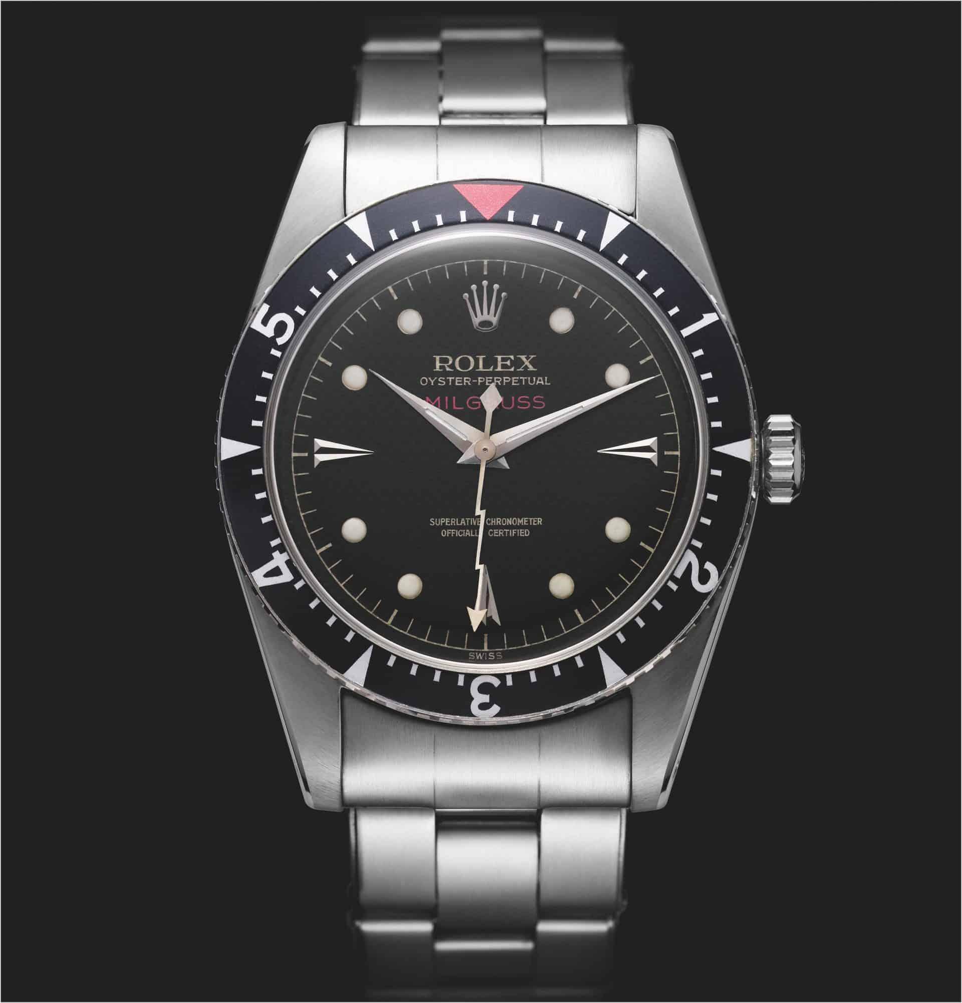 Erste Rolex Milgaus von 1956