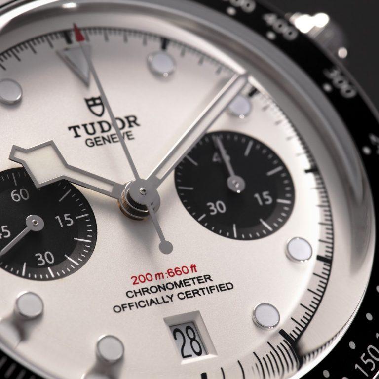 Tudor Black Bay Chronograph Zifferblattdetail