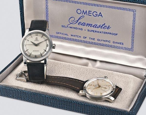 Omega Seamaster Set zu Olympia von 1948
