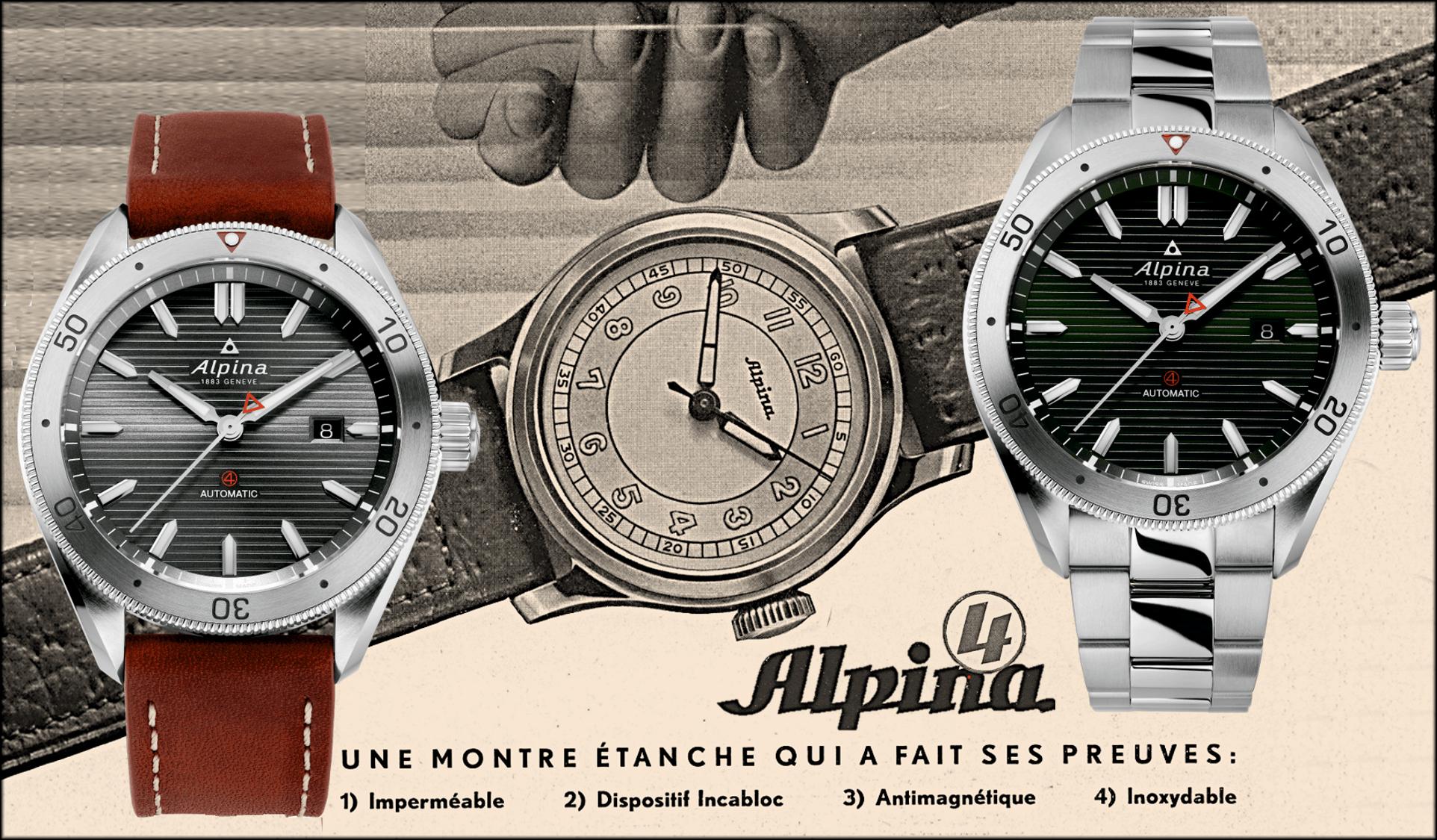 Erste Alpina 4 von 1938 und die Alpina Alpiner 4 von 2021