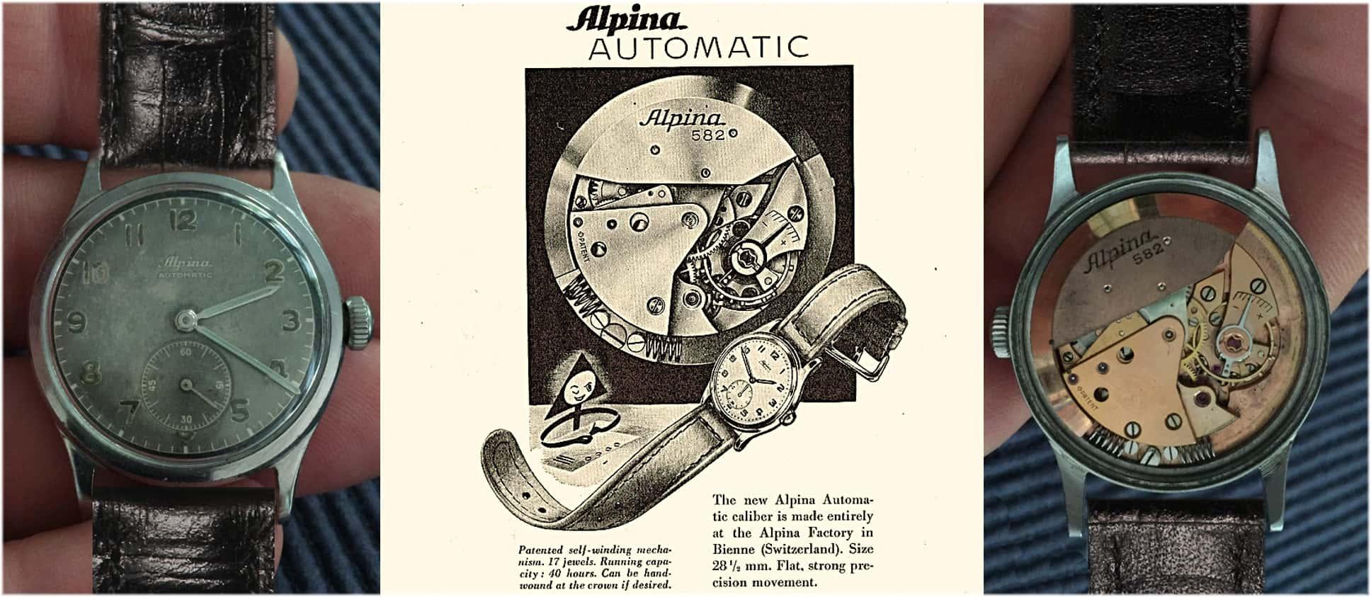 Alpina Automatic von 1945