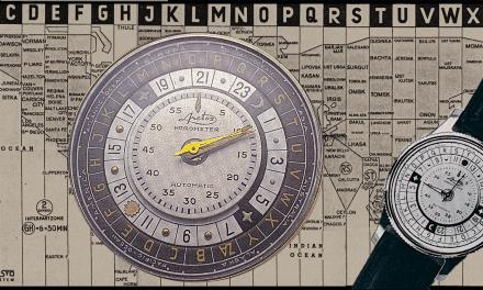 Arctos Horometer: Eine rätselhafte Weltzeit-Armbanduhr