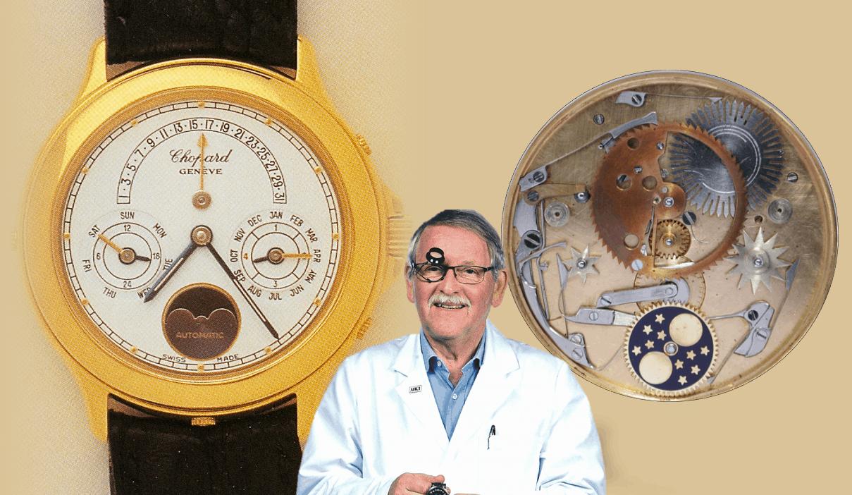 Chopard Luna d'Oro Armbanduhr mit ewigem Kalender von Svend Andersen 1984
