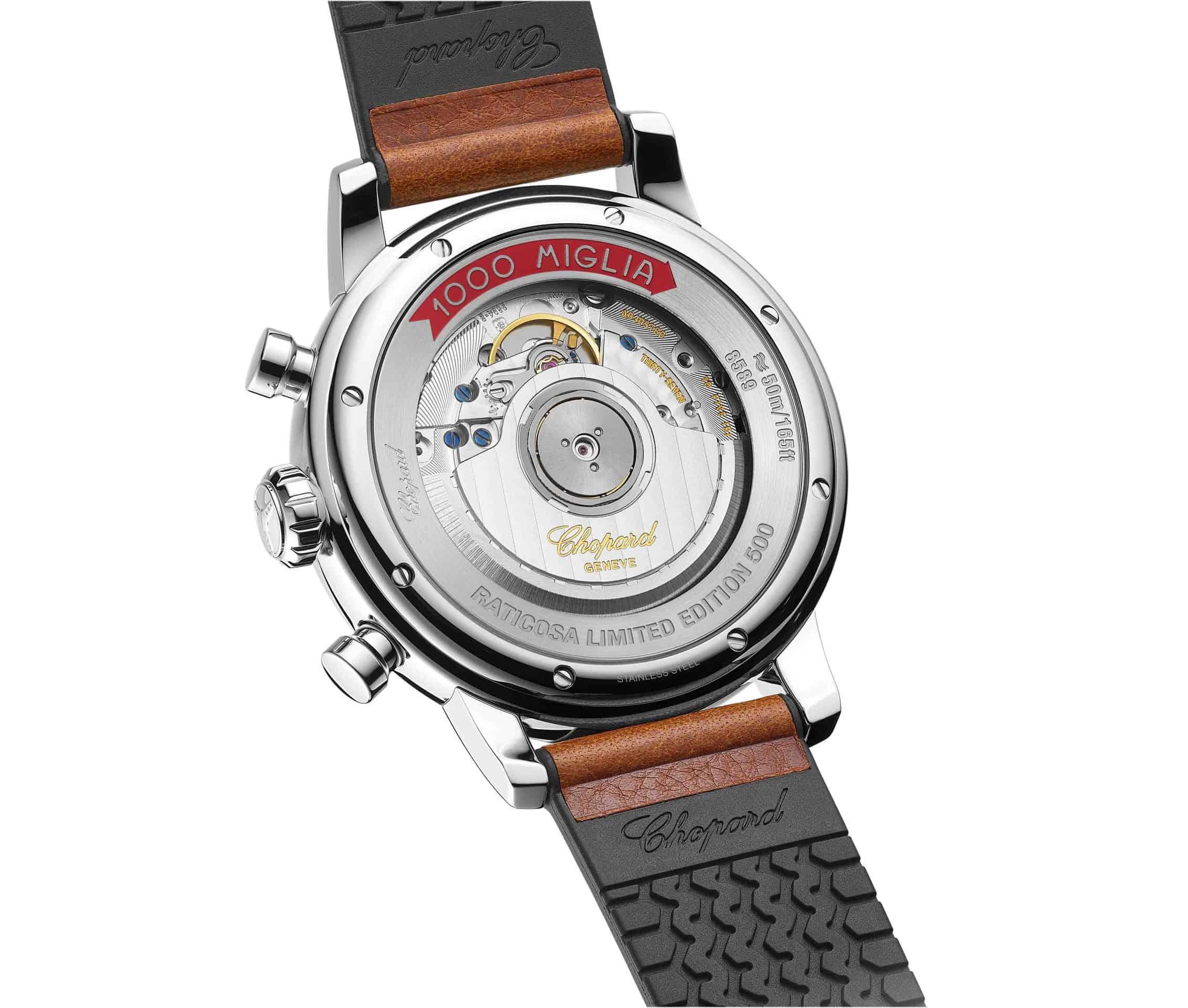 Kaliber Eta 2894-A2 des Mille Miglia Classic Raticosa Chronographen