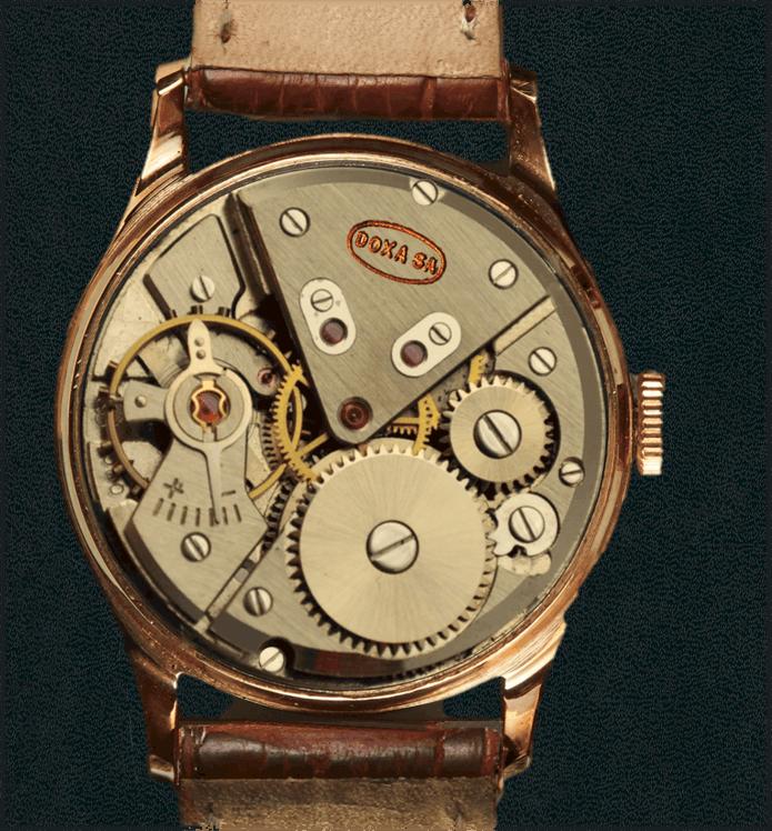 Doxa Armbanduhr Kaliber Eta 1080
