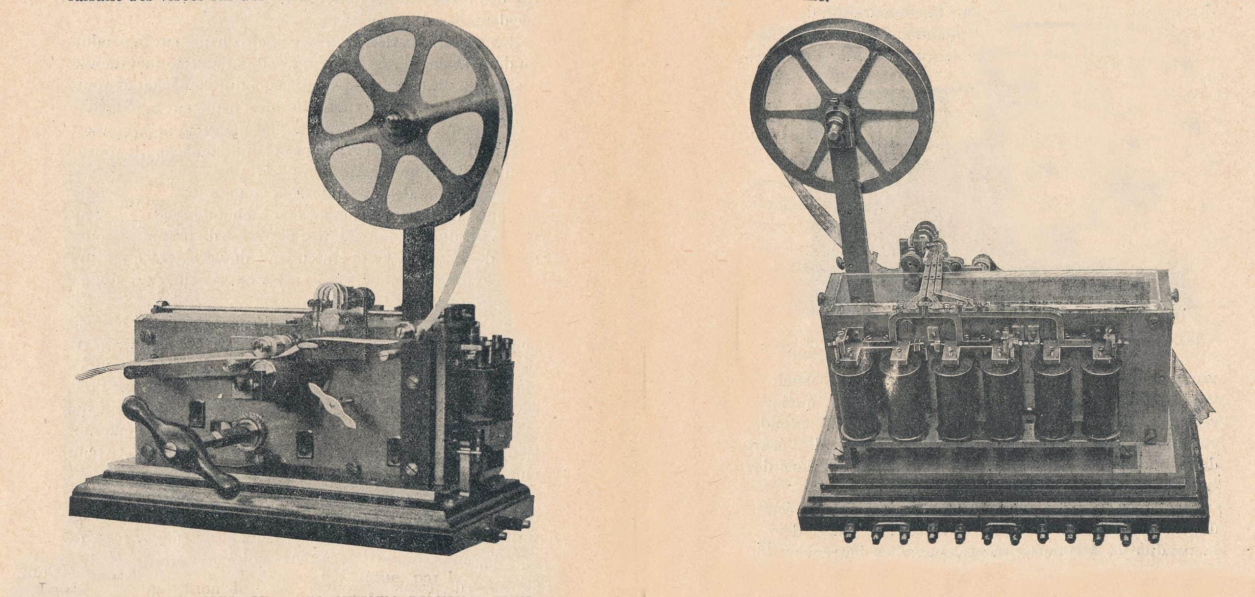 Ein elektrischer Chronograph von 1922
