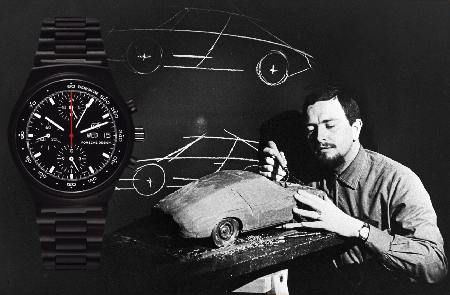 Ferdinand A. Porsche Porsche 911 und Porsche Design Chronograph 1973