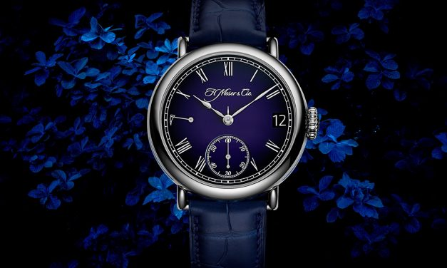 H. Moser Heritage Perpetual Calendar Midnight Blue Enamel