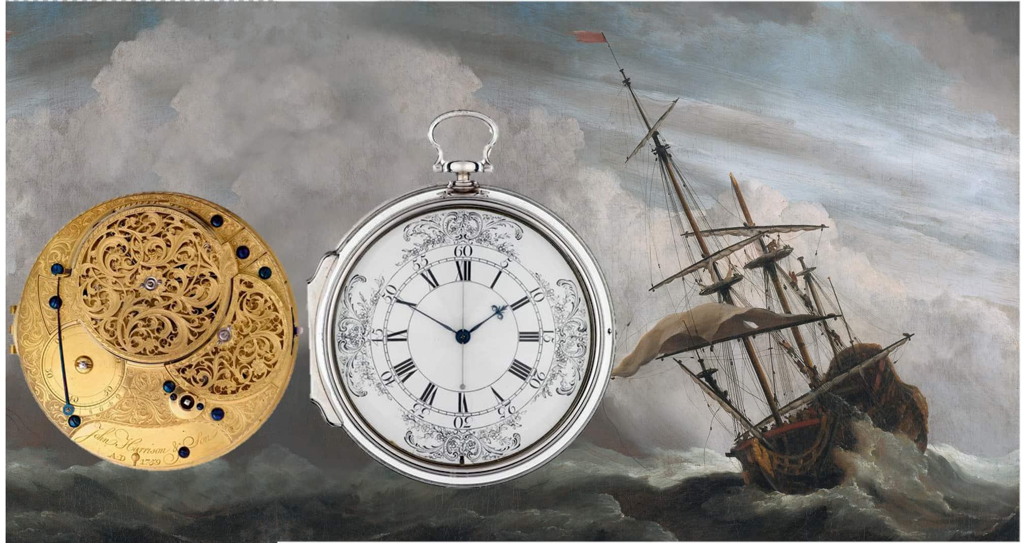 Sekundenzeiger des John Harrison Chronometer H4