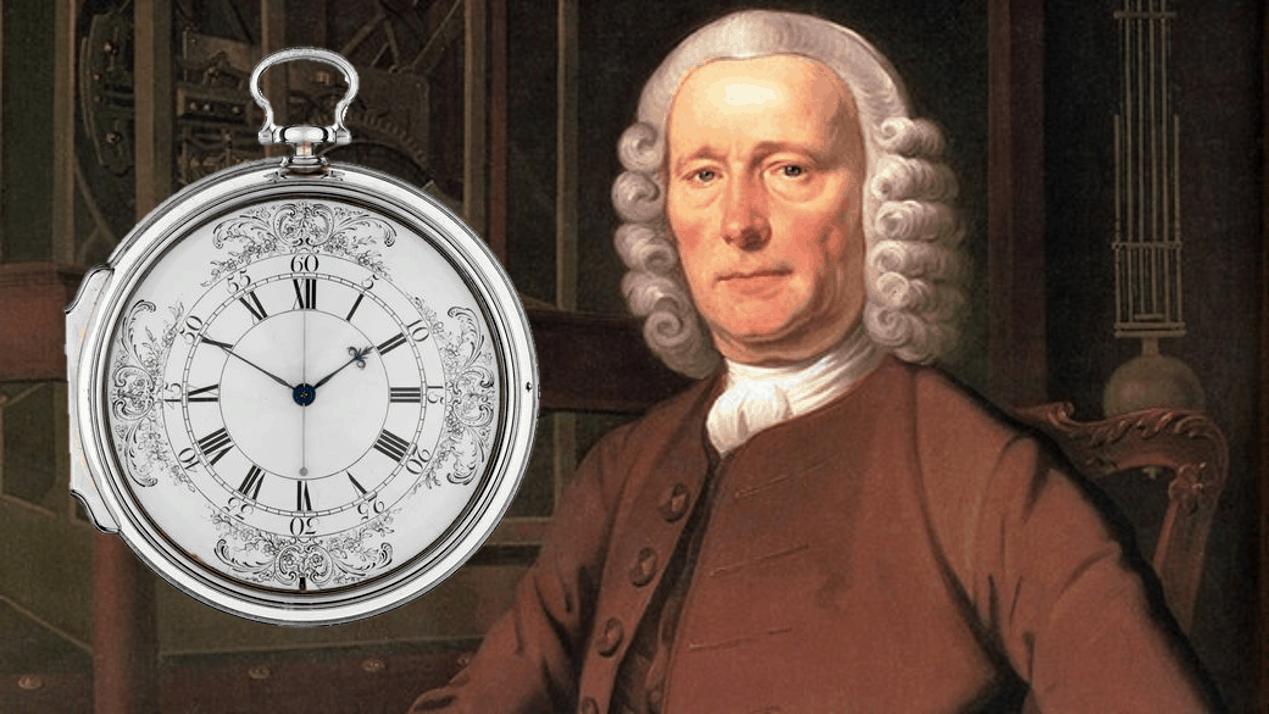 Zentraler Sekundenzeiger von John Harrison und seinem Chronometer H4