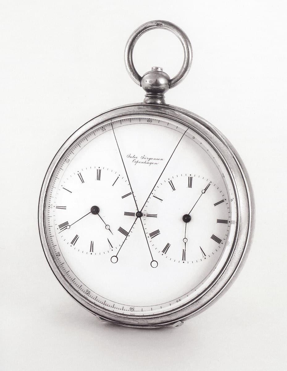 Jürgen Jürgensen Splitchronograph von 1890