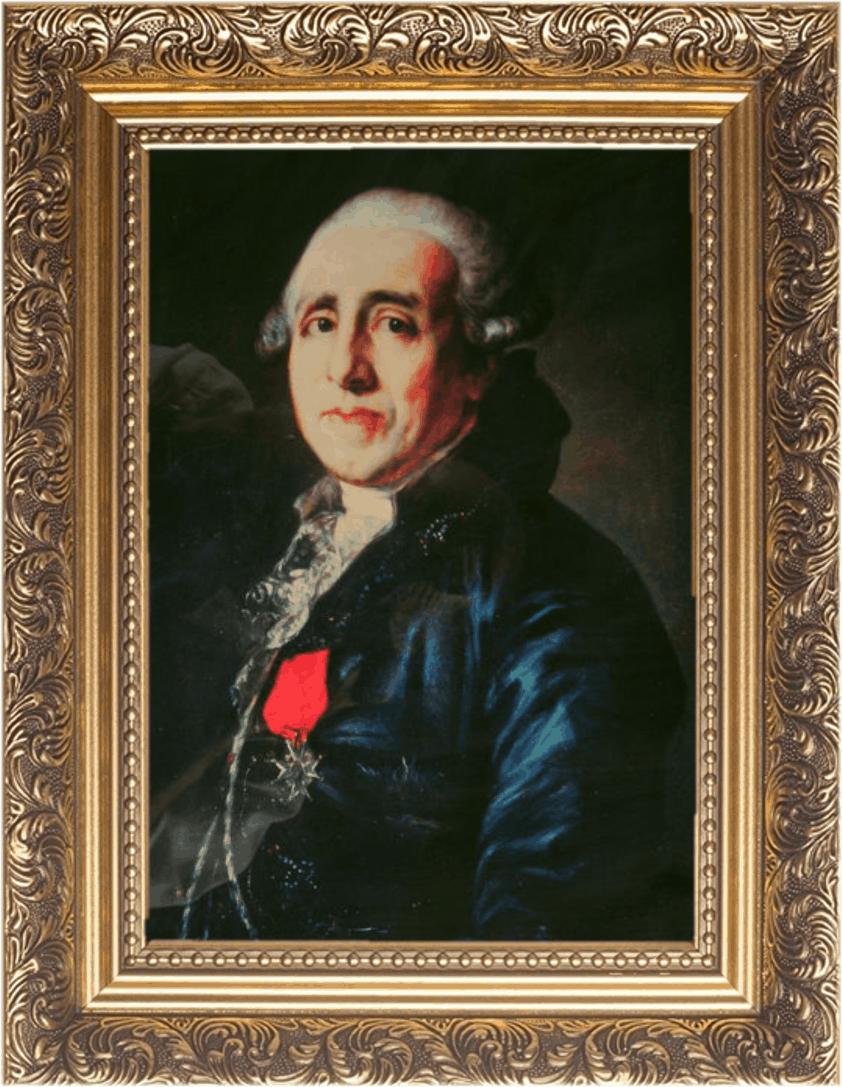 Marc-Antoine Thierry, seines Zeichens Baron de Ville d'Avray