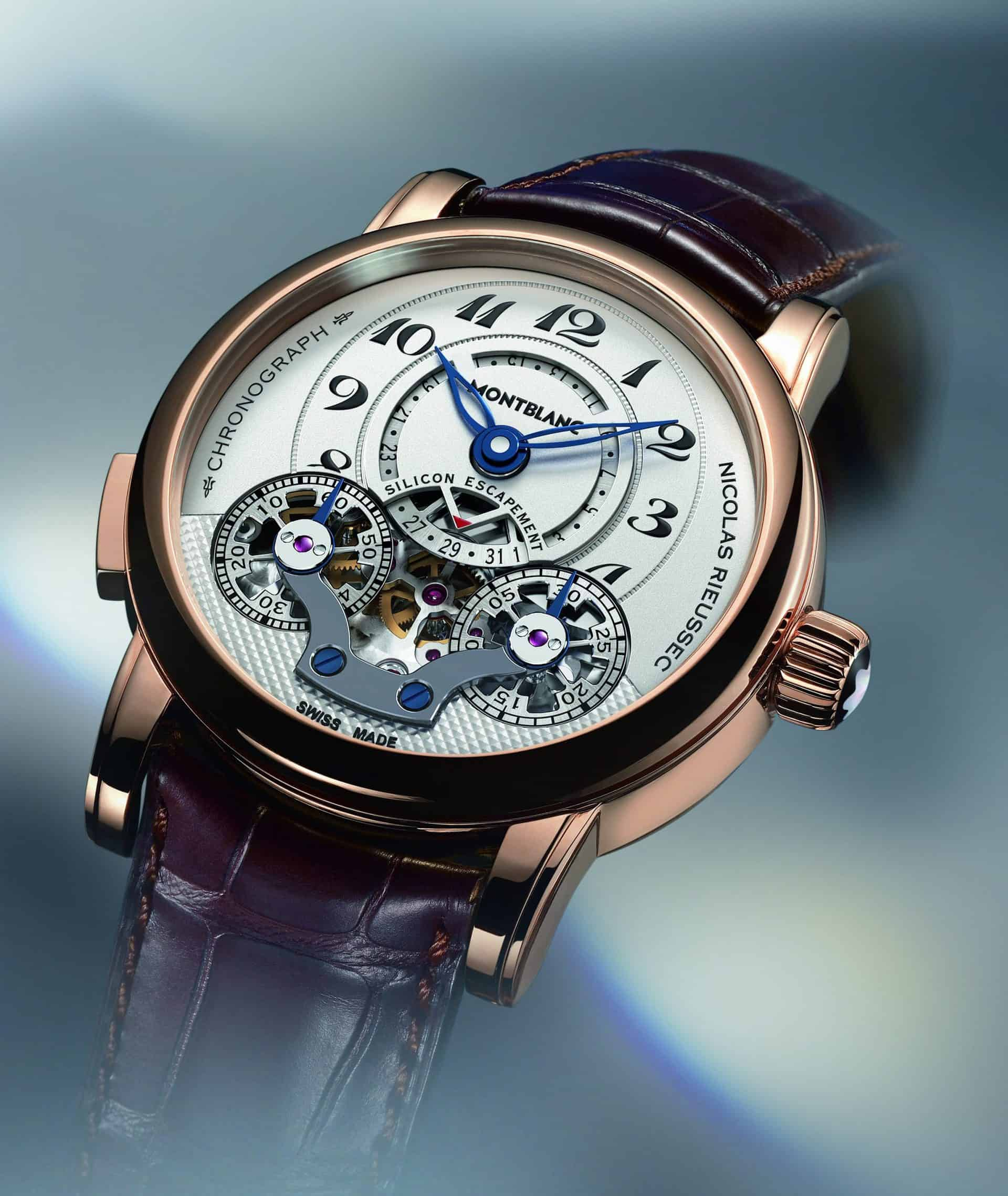 Montblanc Nicolas Rieussec Monopusher Chronograph Handaufzug