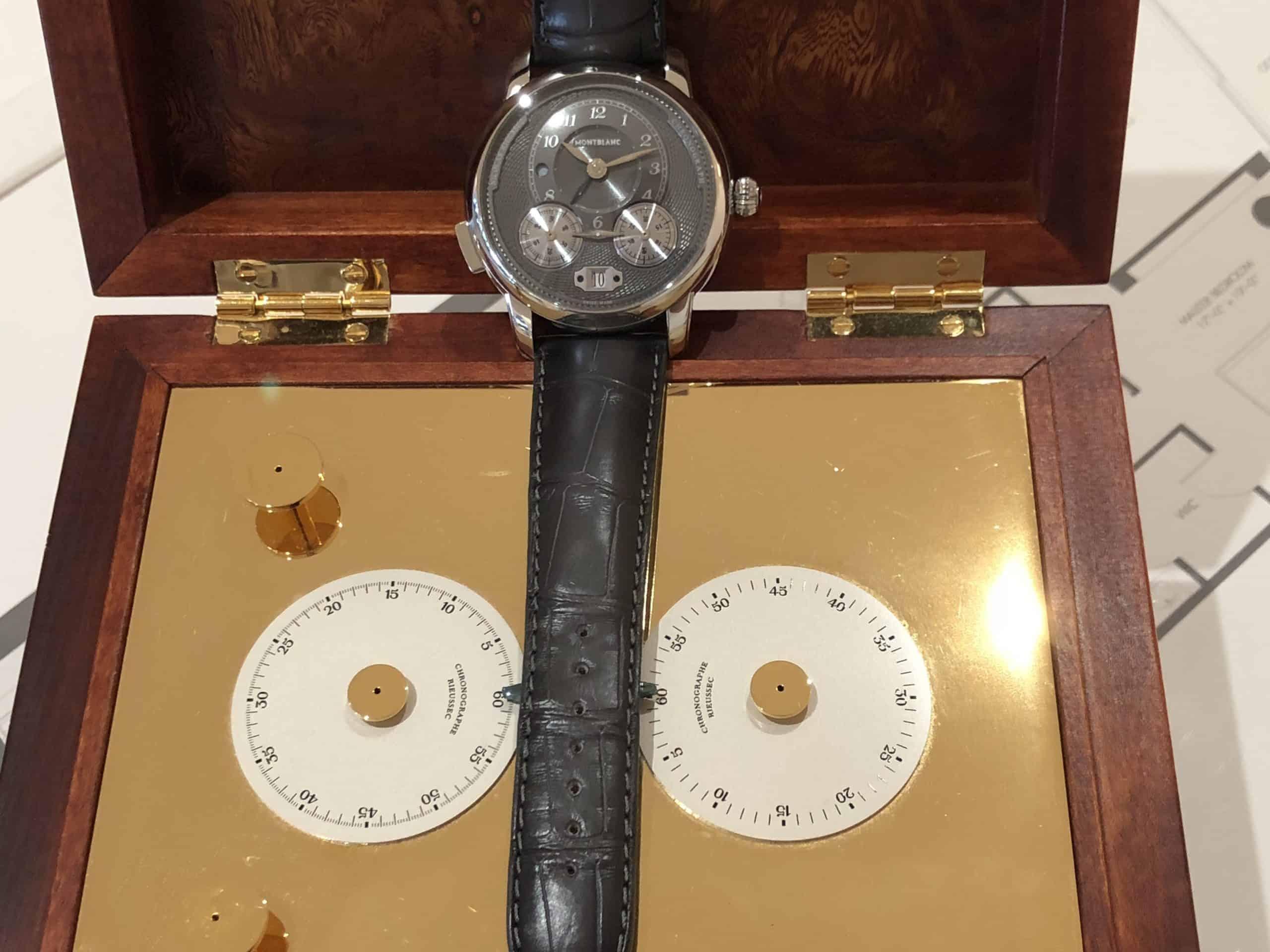 Montblanc Star Legacy Rieussec Chronograph aus dem Jahr 2018