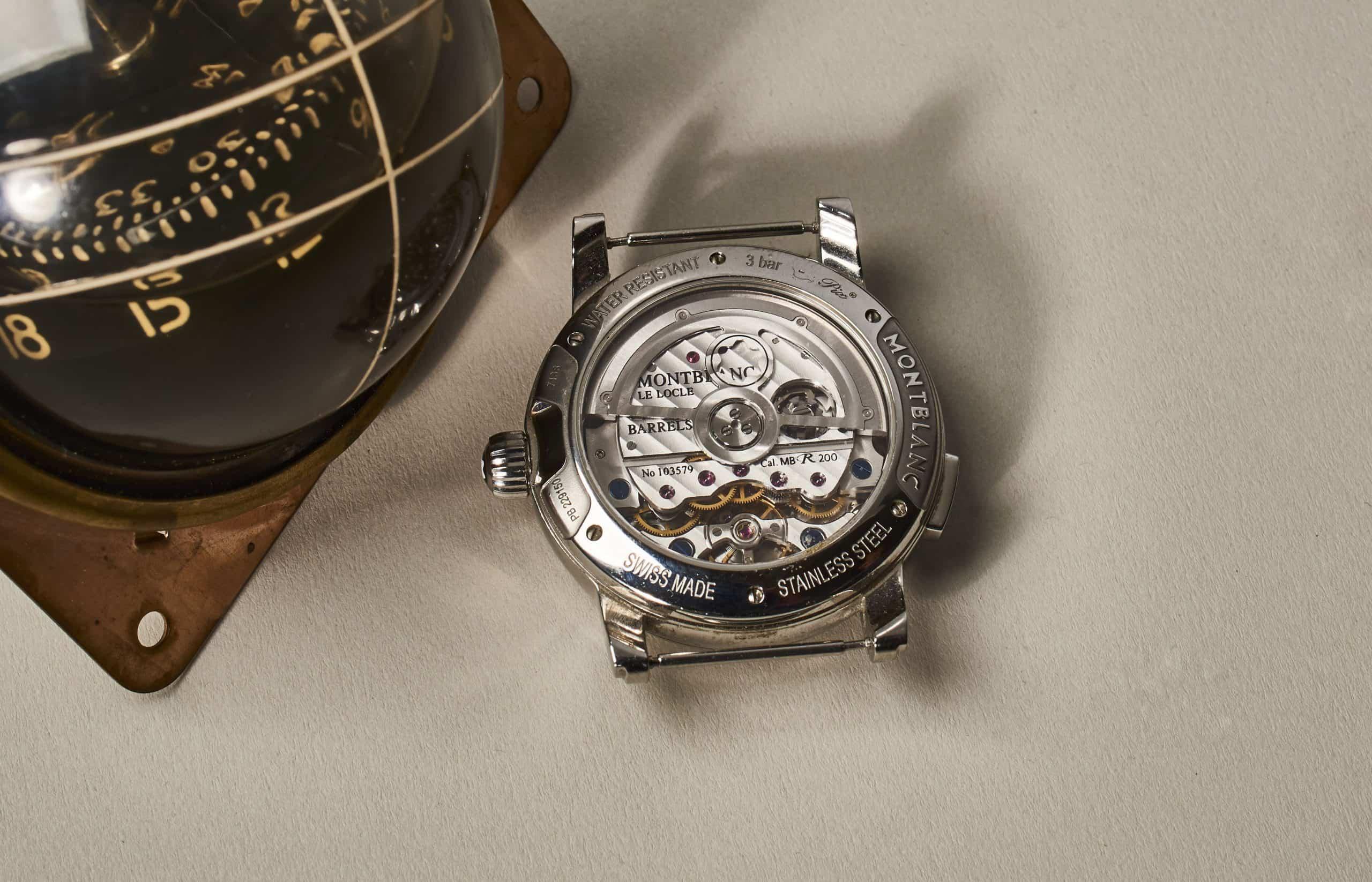 Montblanc Star Rieussec Chronograph Automatic in Stahl (C) Uhrenkosmos