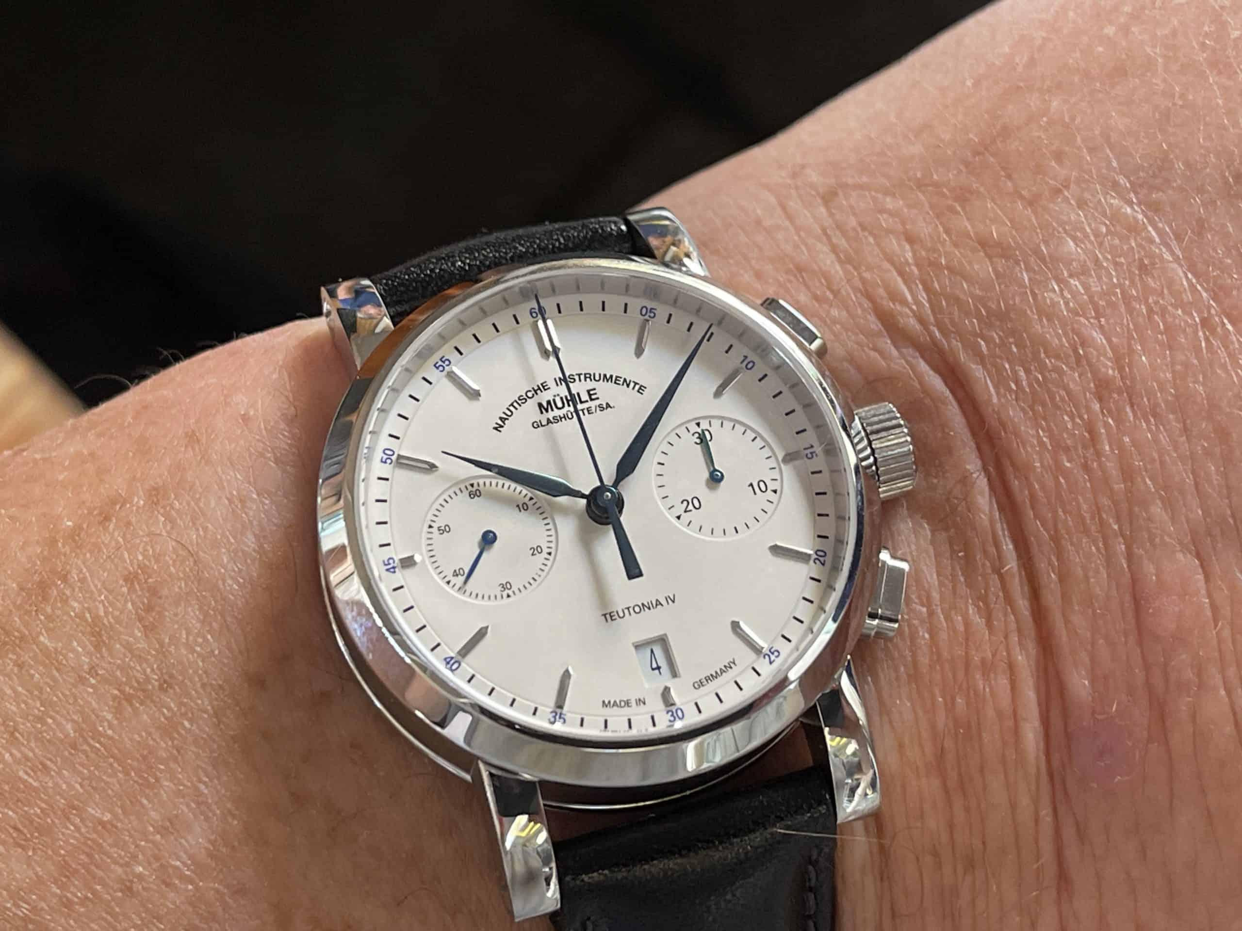 Mühle Glashütte Teutonia IV Chronograph (C) Uhrenkosmos