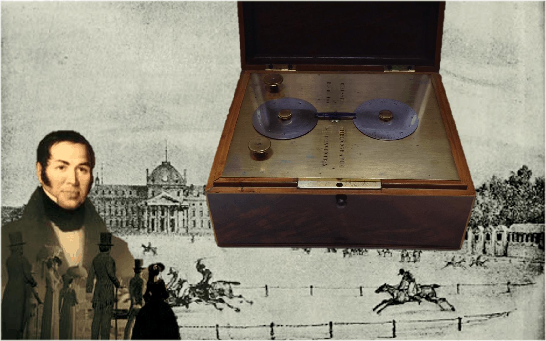 Tinten-Chronograph von Nicolas Mathieu Rieussec aus dem Jahr 1821