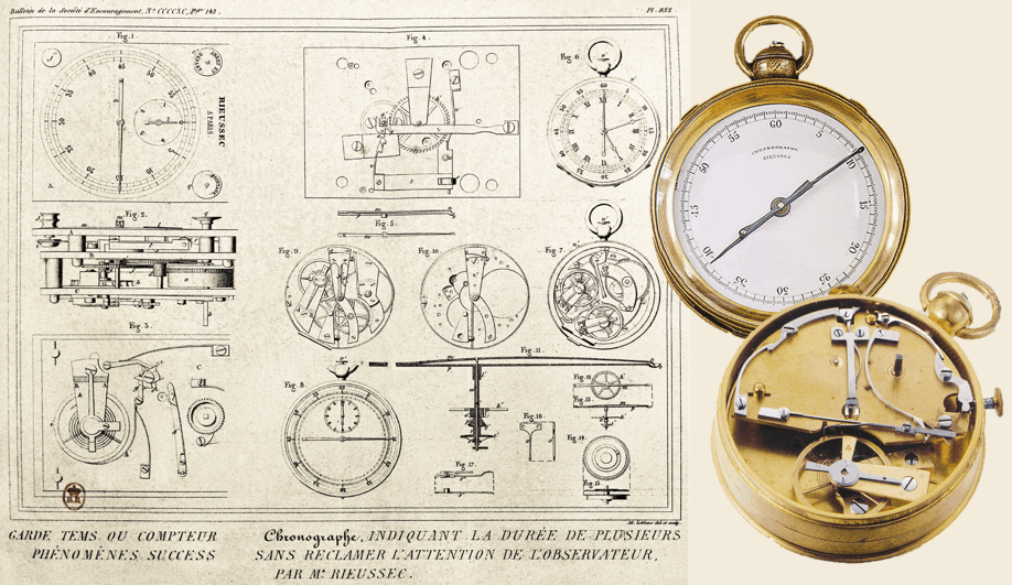 Tintenchronograph