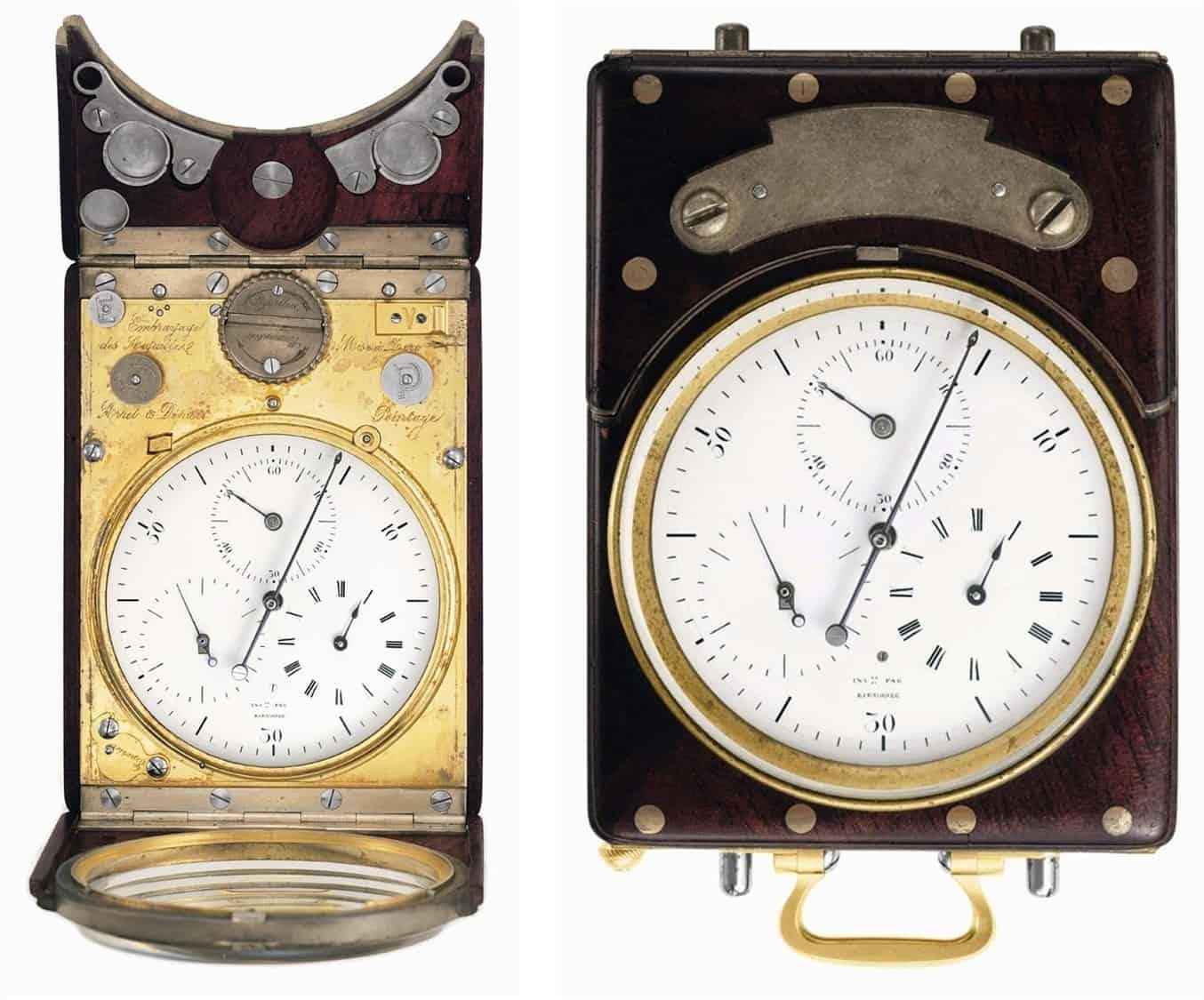 Rieussec Tintenchronograph im Museum Patek Philippe