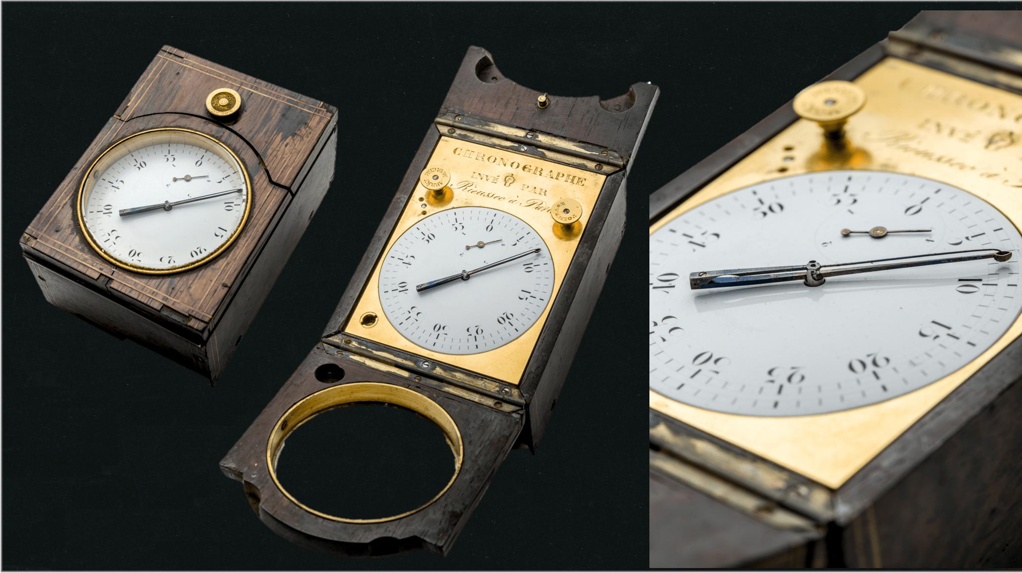 Tintenchronograph von 1830 von Nicolas Mathieu Rieussec