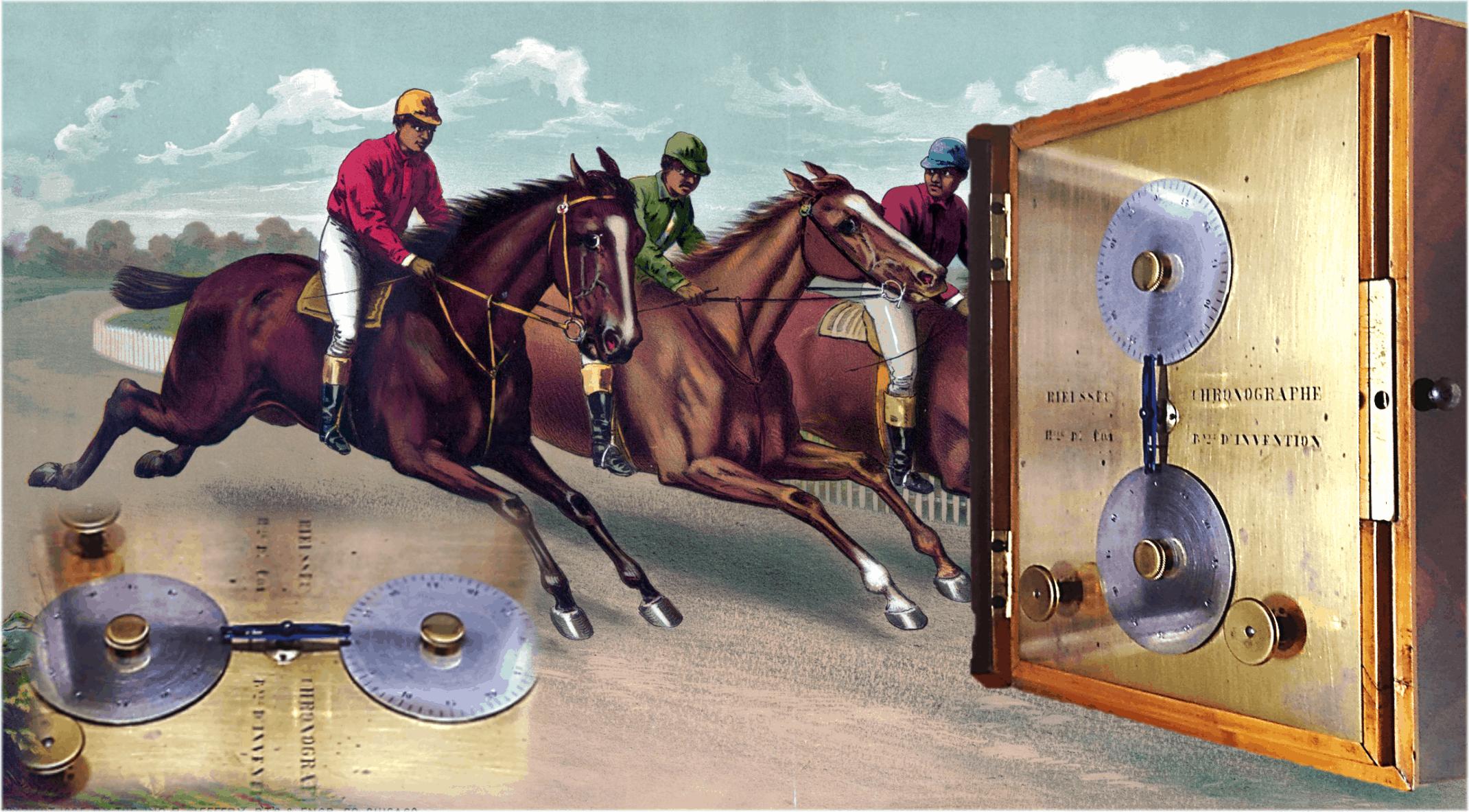 Die zwei Scheiben des Nicolas Mathieu Rieussec Tinten-Chronographen