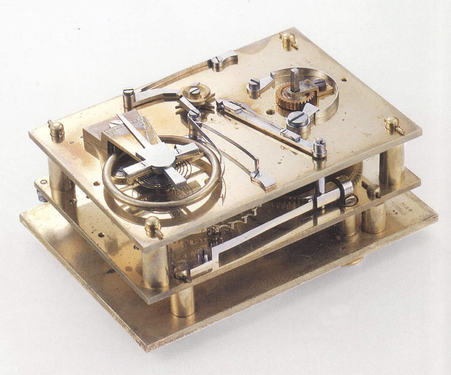 Tintenschreiber Chronograph von Nicolas Mathieu Rieussec