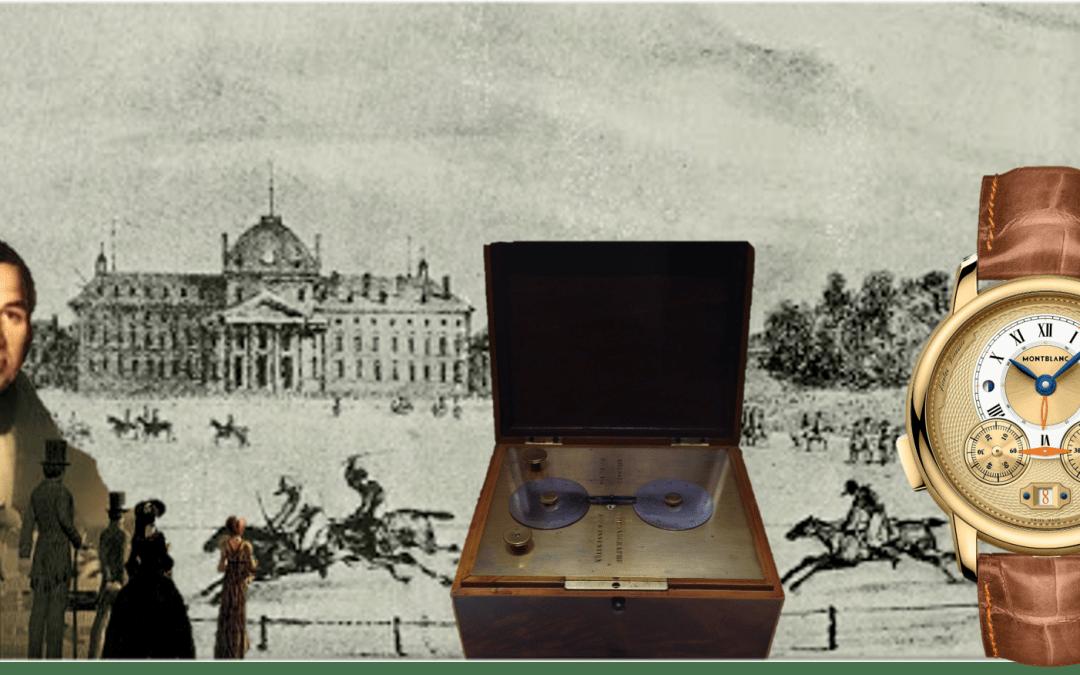 Nicolas Rieussec Chronograph und Montblanc Star Legacy Rieussec Chronograph Unique Piece 2021 (C) Uhrenkosmos
