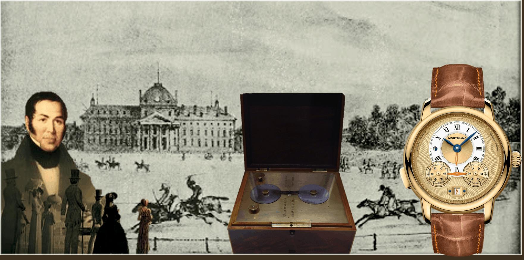 Erfindung des Chronographen im Jahr 1821Nicolas Mathieu Rieussec und die Erfindung des Chronographen