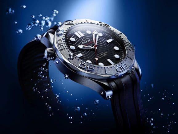 Omega Seamaster Diver mit Heliumventil