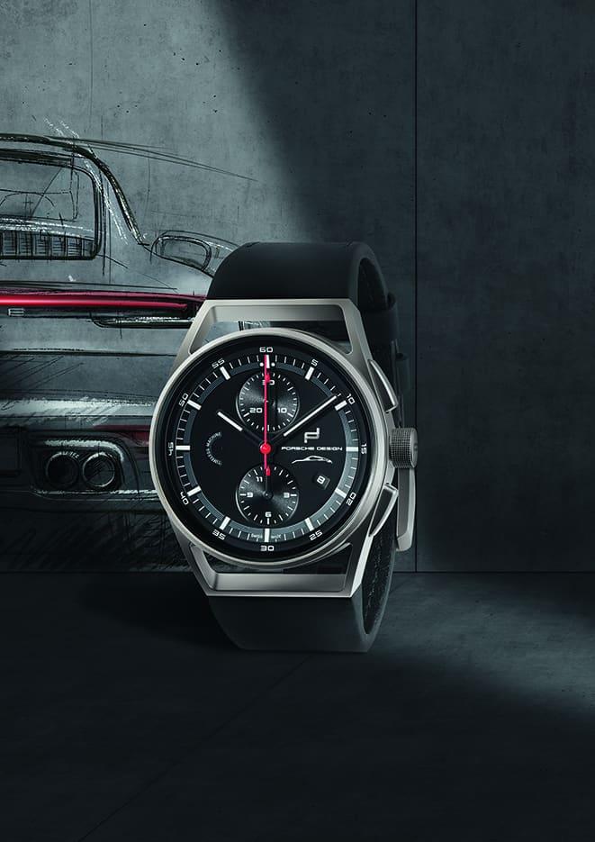 Skizze und Linienführung Porsche und Porsche Design 911 Timeless Machine