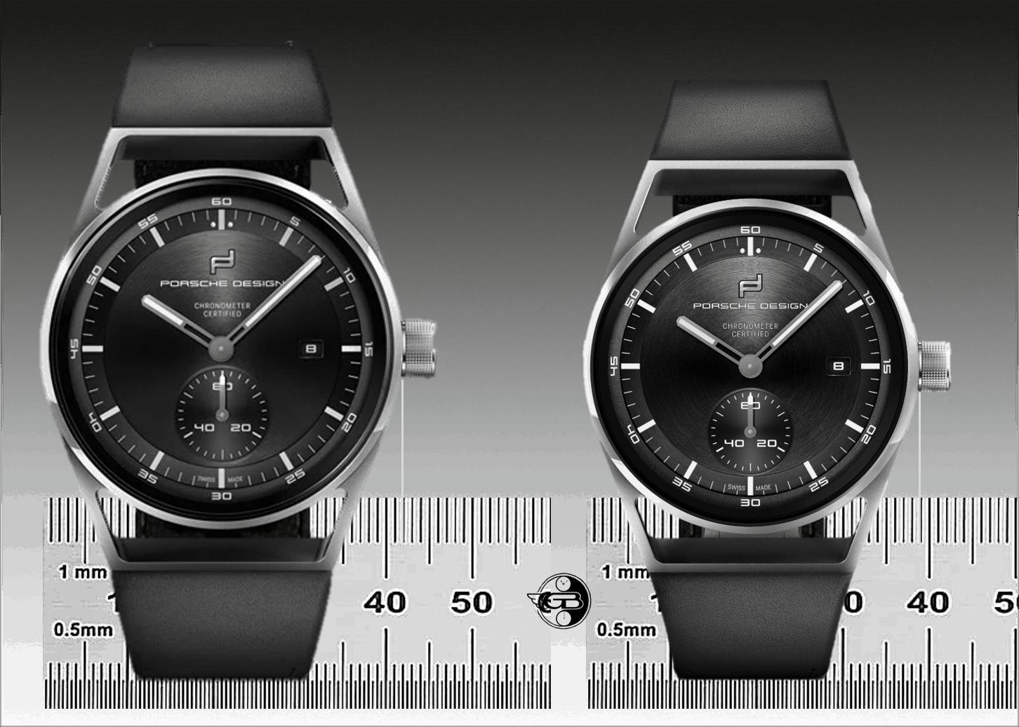 Porsche Design Sport Chrono Subsecond 42 mm und 39 mm C GLB Uhrenkosmos