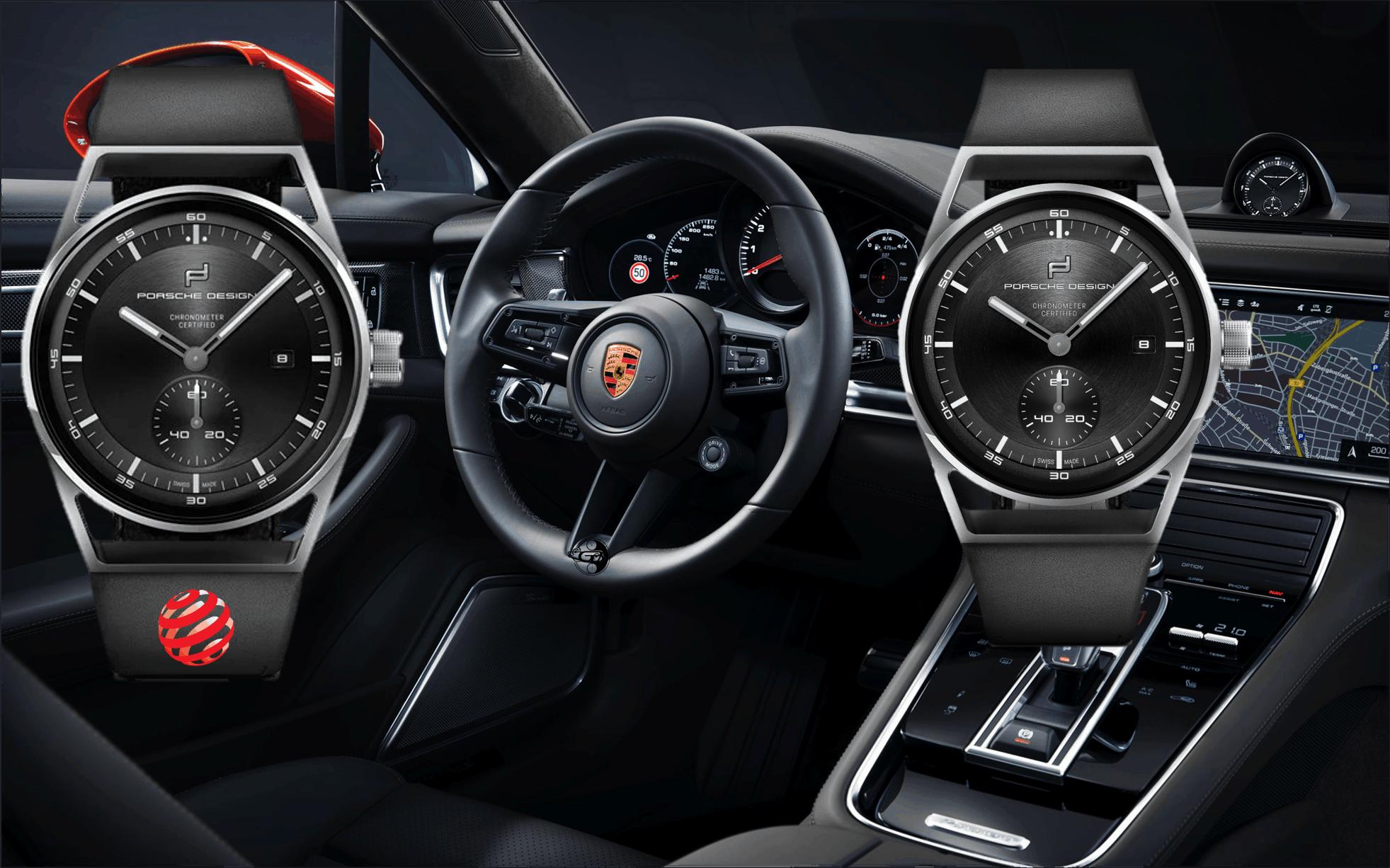 Porsche Design mit 39 mm TitangehäusePorsche Design Sport Chrono Subsecond: Die Uhr zum Auto