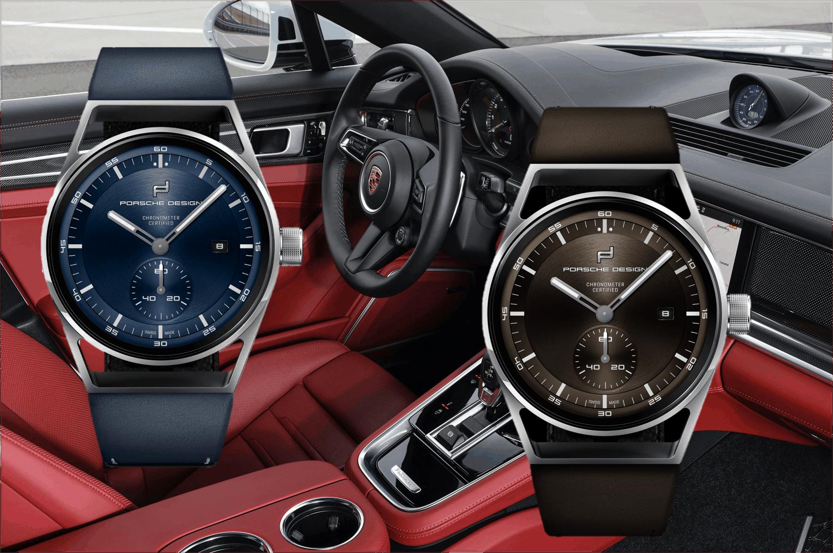 Farbvarianten des Porsche Design Sport Chrono Subsecond