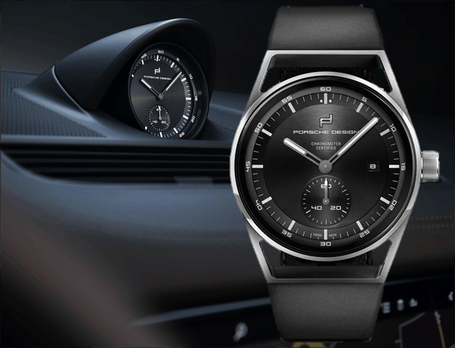 Porsche Design Sport Chrono Subsecond mit 42 mm Gehäuse