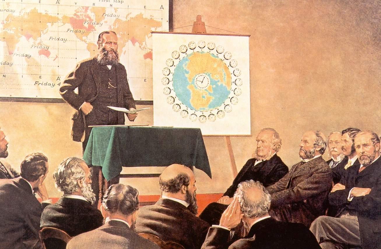 Sandford Fleming und die Prime-Meridian-Conference in Washington DC im Jahr 1883