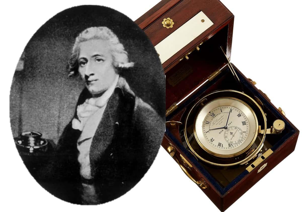 Thomas Earnshaw Marinechronometer
