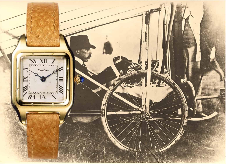 Alberto Santos-Dumont und das erste Modell der Cartier Santos