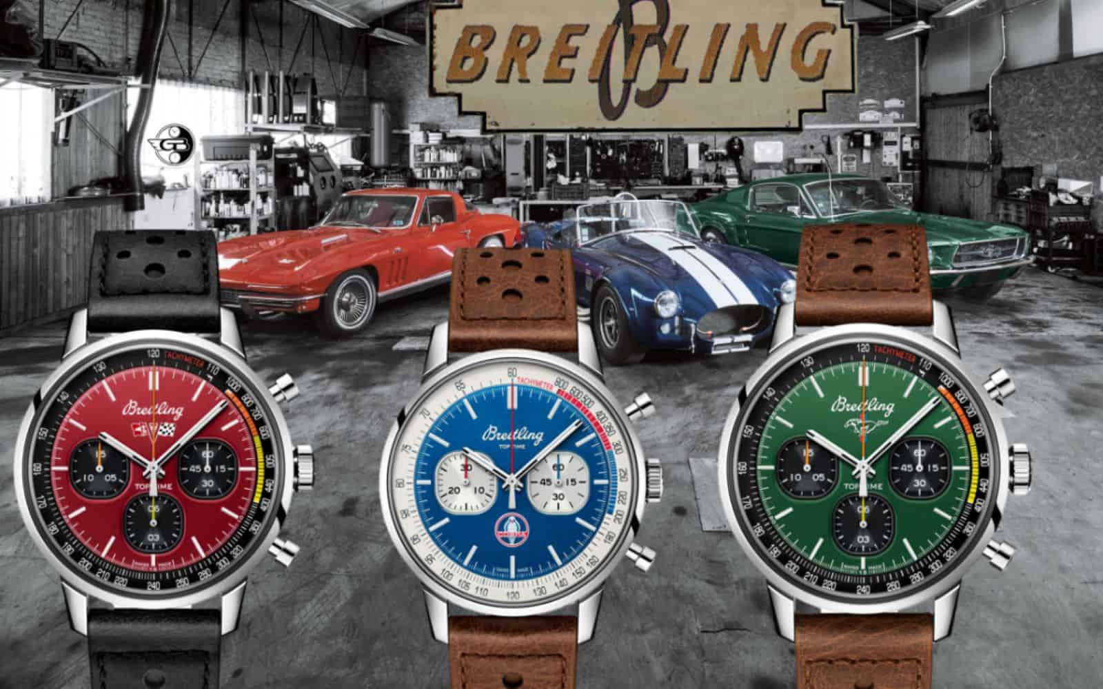 Breitling Top Time Classic Cars Collection 2021 (C) Uhrenkosmos