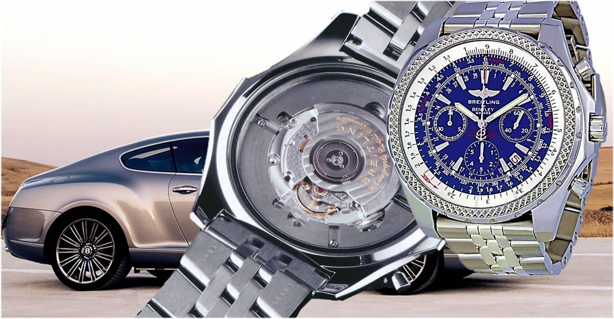 Autopartnerschaft Breitling mit Bentley Motors - Uhr Referenz A25362