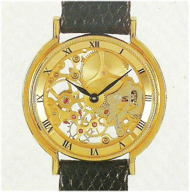 Chronoswiss Armbanduhr, Kaliber Unitas UT 6565 von 1985