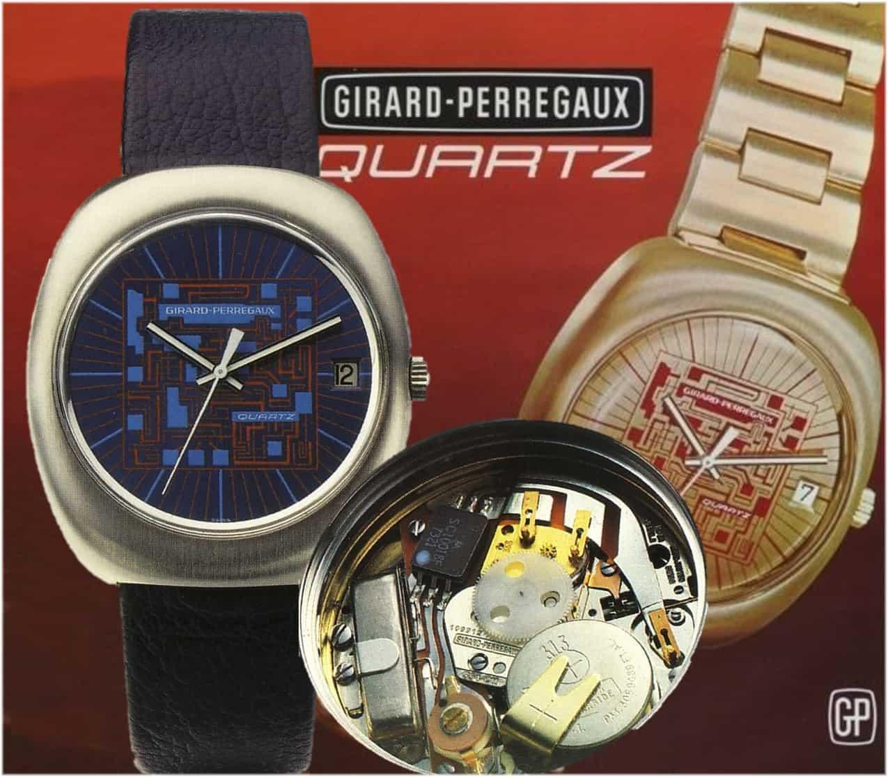 Erste digitale Quarzuhr: Girard-Perregaux Quartz