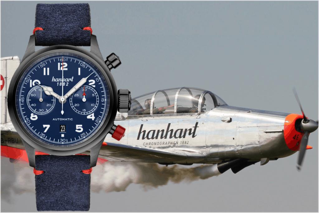 Hanhart #FliegerFriday 2021 (C) Uhrenkosmos