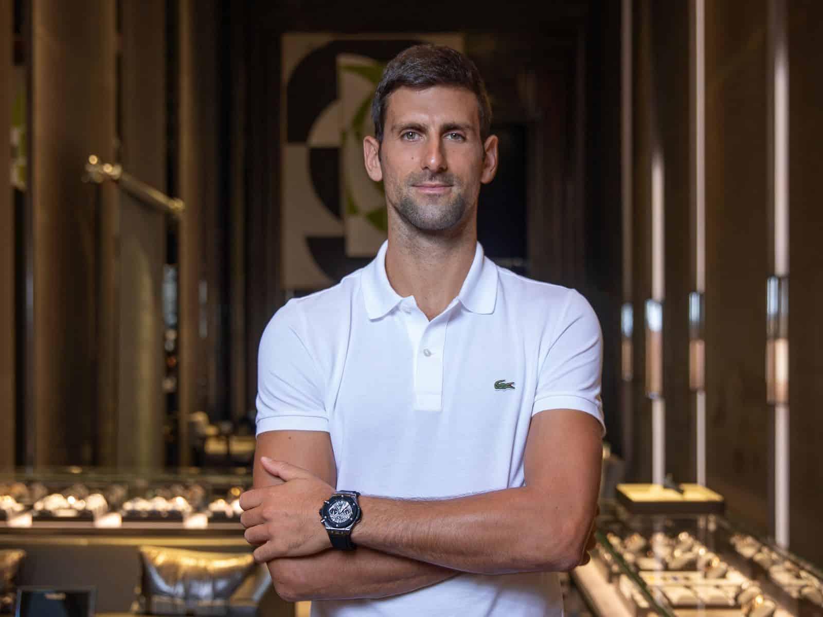 Hublot Markenbotschafter Novak Djokovic