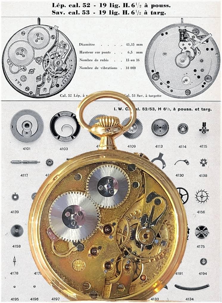 IWC Kaliber 52-53 (C) Uhrenkosmos