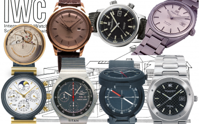 IWC Schaffhausen Meilensteine (2/3)IWC Uhren von 1950 bis 1986: Automatische Kaliber sind angesagt