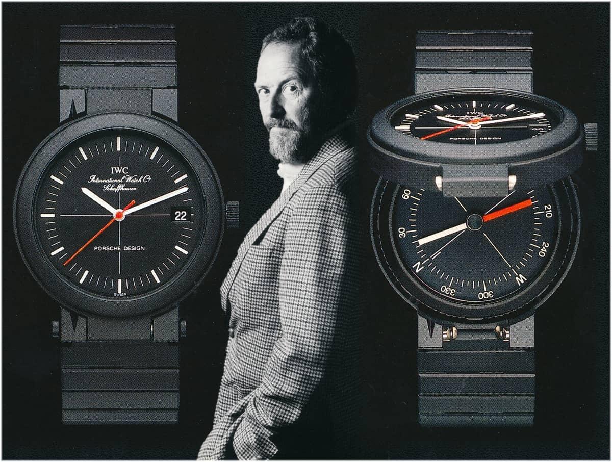 IWC Porsche Design Kompassuhr Ref 3510 (C) Uhrenkosmos