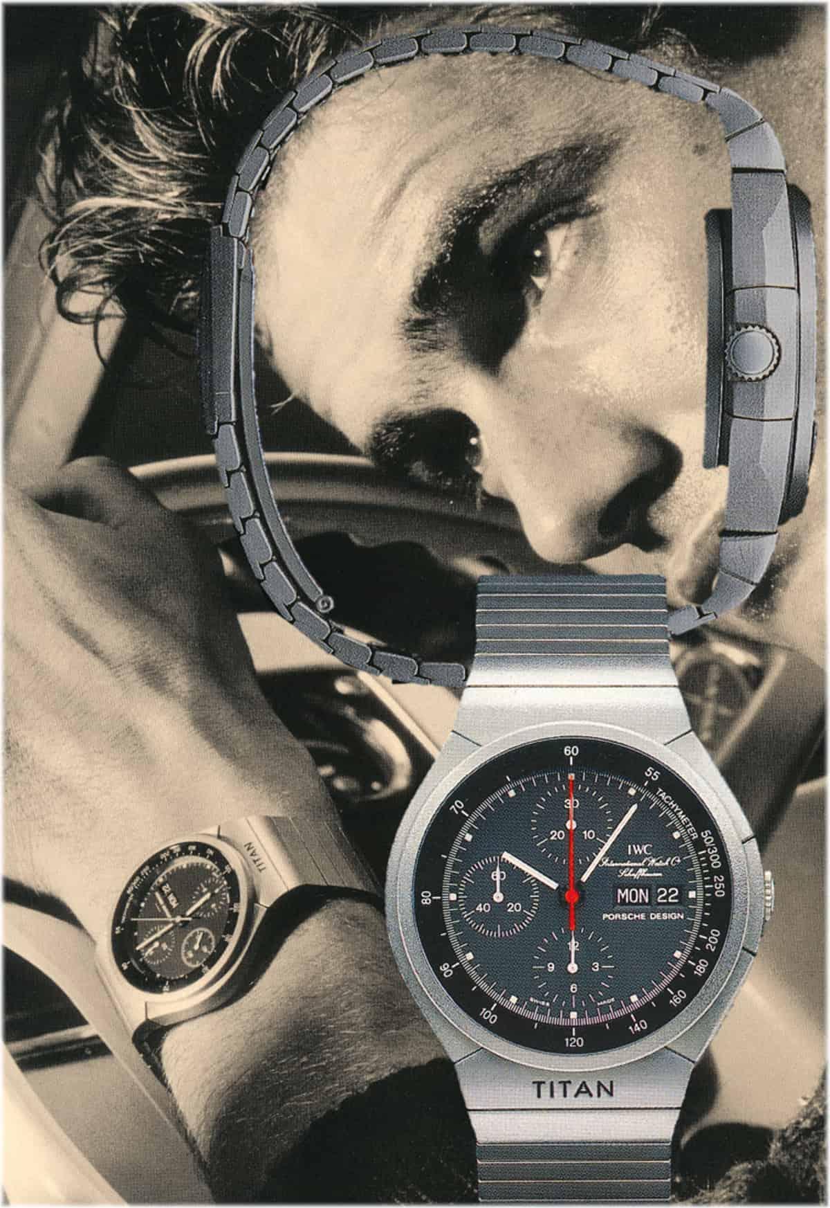 IWC Porsche Design Titan Chronograph Referenz 3702 von 1080