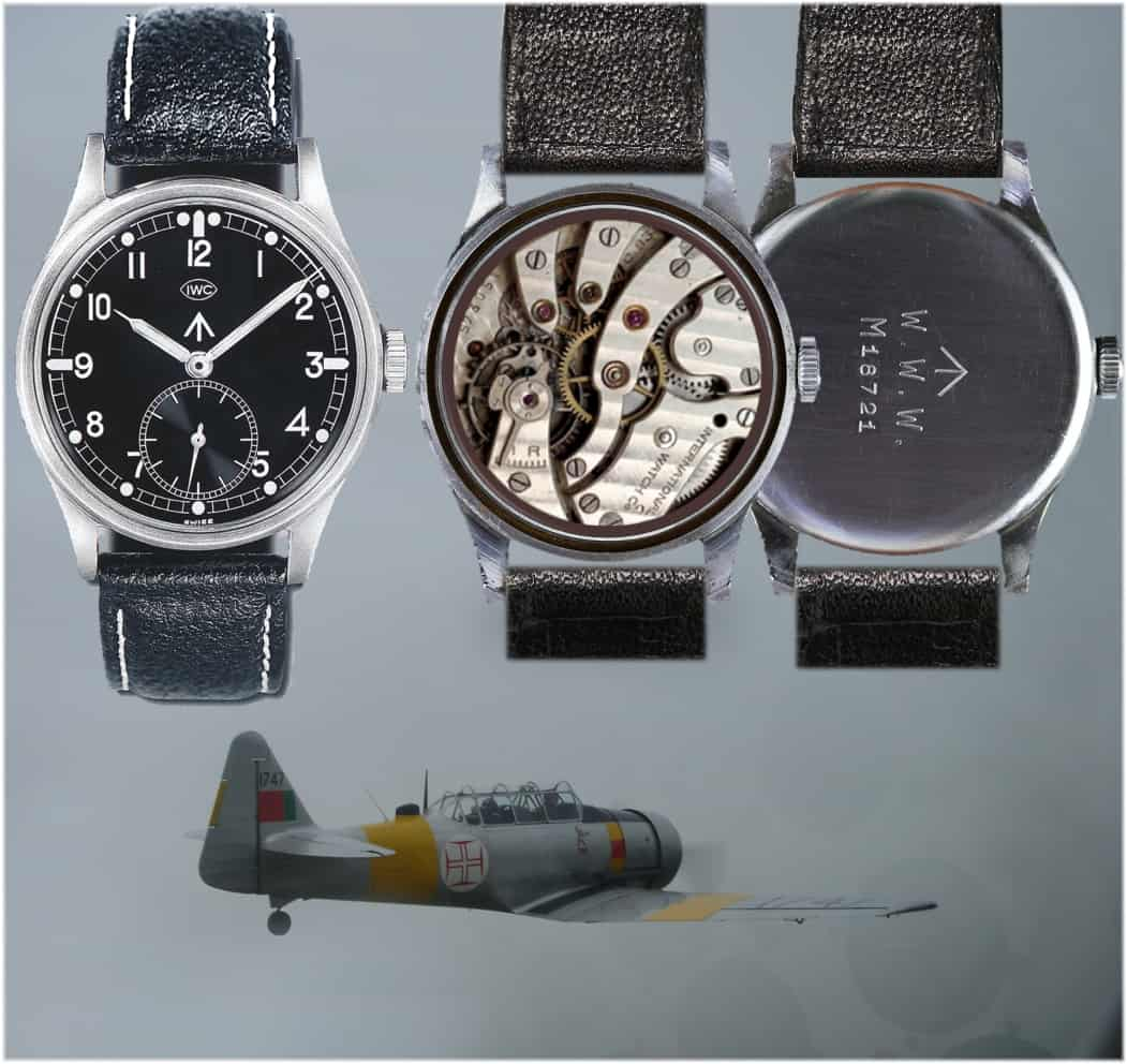 Fliegeruhr IWC Mark X oder auch IWC W.W.W. (C) Uhrenkosmos