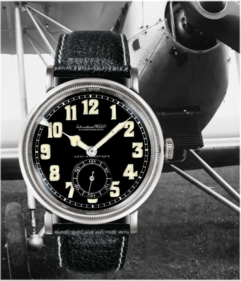 Die erste IWC Fliegeruhr aus dem Jahr 1936 (C) Uhrenkosmos